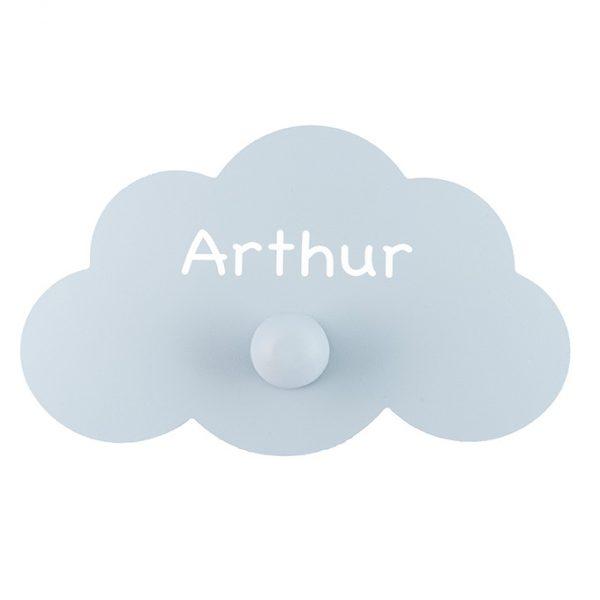 ombrenaturelle-patère-nuage-chambreenfants-décopersonnalisée-cadeaudenaissance