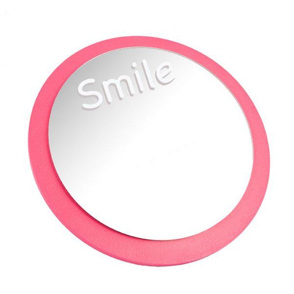 ombrenaturelle-miroirrond-miroir-smile-chambrefille-décofille