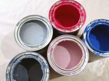 pots peinture