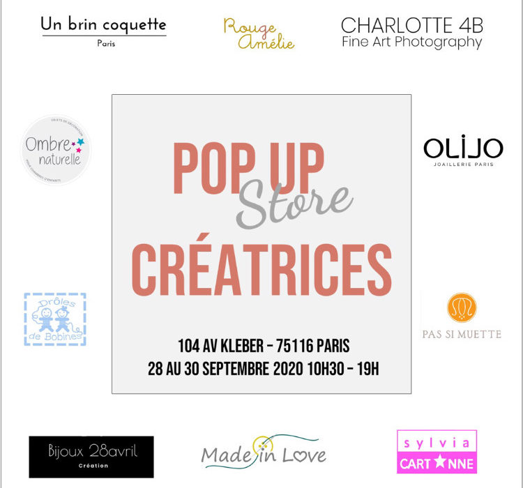 Pop up store Kléber sept 2020