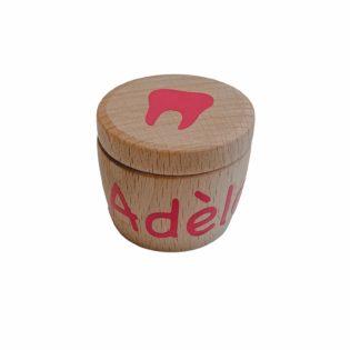Boîte à dents de lait personnalisée prénom